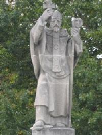Estatua San Sisebuto - Puente San Pablo - Burgos