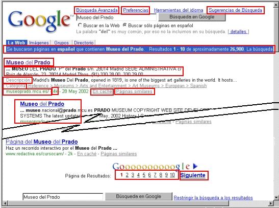 busqueda avanzada preferencias buscar en la web: